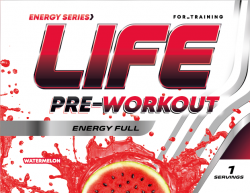 Life PRE-Workout SAMPLES 1 serv