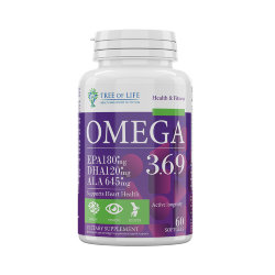 Life Omega 3-6-9 60 softgels