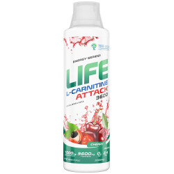 Life L-Carnitine ATTACK 500ml Cherry