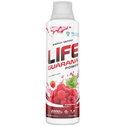 Life Guarana Power Concentrate 500ml Raspberry